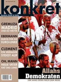 Die KONKRET instrumentalisiert ein Bild des Aschura-Fests für ihre antiislamische Hetze